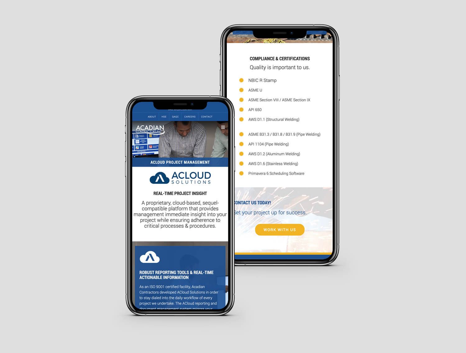 Acadian Contractors Industrial Projects Mobile