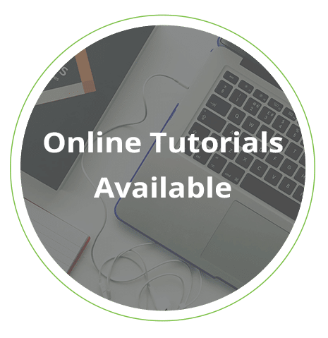 online tutorials available