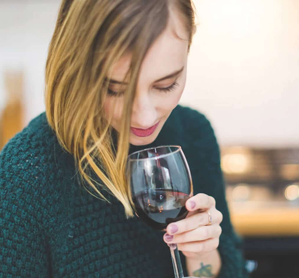 Website Design Services for Select Brands, Inc.woman with a glass of wine