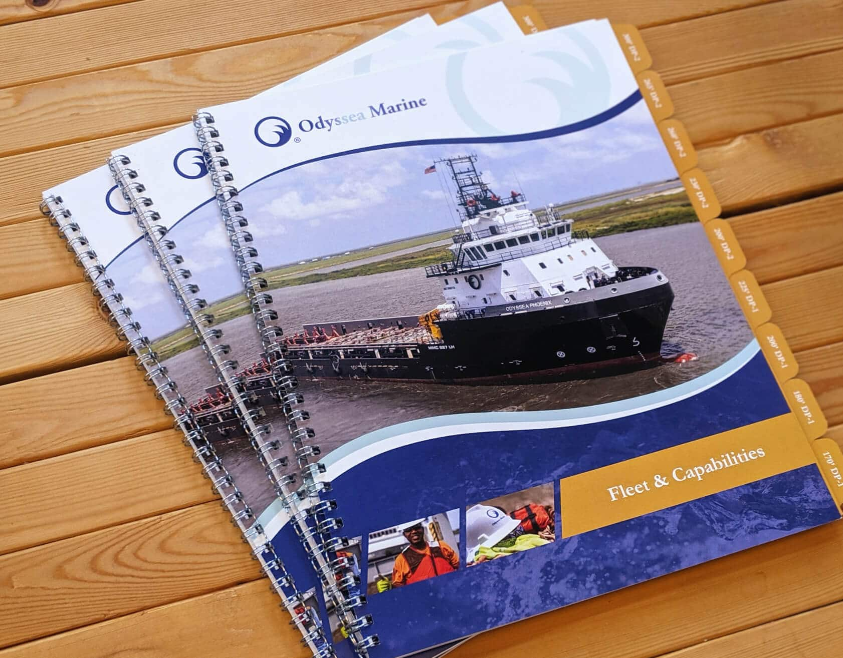 Odyssea Marine Tow Boat Specifications Booklets
